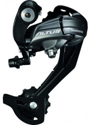 Задний переключатель Shimano RD-M370-L ALTUS black
