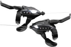 Переключатели Shimano ST-EF510 3x7 black