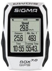 Велокомпьютер Sigma Sport ROX 7.0 white