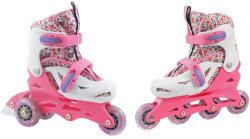 Роликовые коньки SMJ Sport LYZWO-WROTKA 2in1 13 P pink