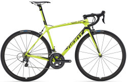 Велосипед Giant TCR ADVANCED SL 2 lime-black