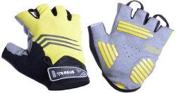 Велосипедные перчатки Tersus ALEX black-yellow