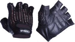 Велосипедные перчатки Tersus CROCHET black