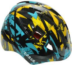 Велосипедный шлем Tersus JOCKEY black-yellow-blue