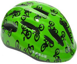 Велосипедный шлем Tersus JOY green bikes