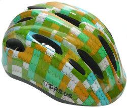 Велосипедный шлем Tersus JOY lego blue