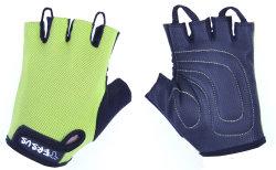Велосипедные детские перчатки Tersus KIDS RACER kiwi
