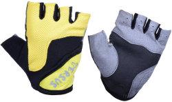 Велосипедные детские перчатки Tersus KIDS ROCKET black/yellow