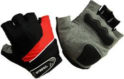 Велосипедные перчатки Tersus LUKE red/black