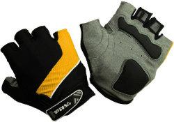 Велосипедные перчатки Tersus LUKE orange/black