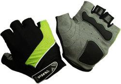 Велосипедные перчатки Tersus LUKE light green/black