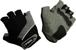 Велосипедные перчатки Tersus LUKE grey/black