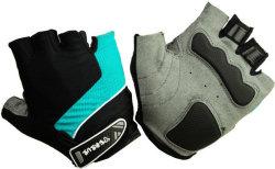 Велосипедные перчатки Tersus LUKE turquoise/black