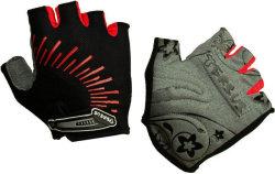 Велосипедные перчатки Tersus MIA red-black