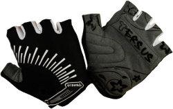Велосипедные перчатки Tersus MIA white-black