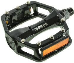 Педали алюминиевые Tersus PPA-861B black