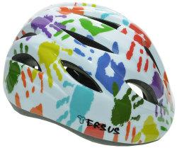 Велосипедный шлем Tersus RIDER colorful hands