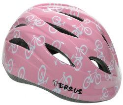 Велосипедный шлем Tersus RIDER pink bikes