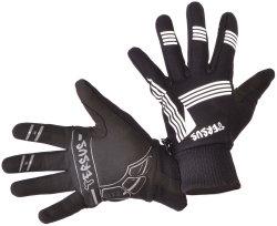 Велосипедные перчатки Tersus RODOLF LF black