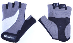 Велосипедные перчатки Tersus XENA grey-white