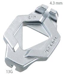 Ключ для спиц Topeak DUOSPOKE 13G 4.3 мм