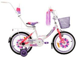 ��������� MBIKE LILLIES 12 white-pink