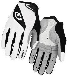 Велосипедные перчатки Giro BRAVO LF white-black