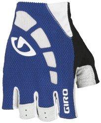 Велосипедные перчатки Giro ZERO blue-white