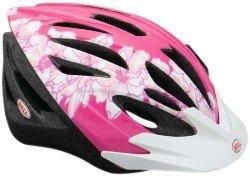 Велосипедный шлем Bell SHASTA pink-white flowers
