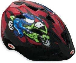 Велосипедный шлем Bell TATER red-moto