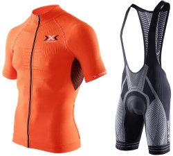 Комплект веломайка + велошорты X-BIONIC THE TRICK B119