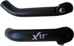 Рожки X17 выгнутые black
