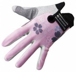 Велосипедные перчатки Exustar 530W pink