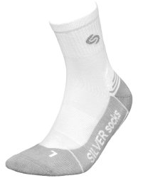 Носки INMOVE ATHLETIC DEODOANT SILVER  white-light grey