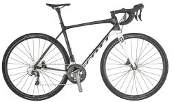 Велосипед Scott ADDICT 30 DISC white-black