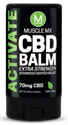 Бальзам Muscle MX Activate CBD Heating Balm 70 mg (15ml/0.5oz)