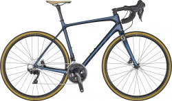Велосипед Scott Addict 20 Disc (TW) blue