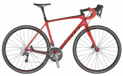 Велосипед Scott Addict 30 Disc (TW) red