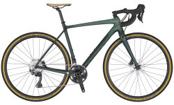 Велосипед Scott Addict Gravel 30 green/black