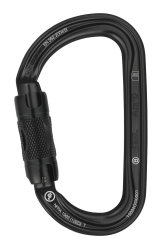 Карабин Petzl Am'D Twist-Lock black