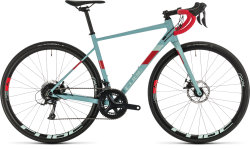 Велосипед Cube Axial WS Pro greyblue'n'coral