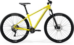 Велосипед Merida Big Nine 500 glossy bright yellow (black)