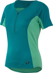 Джерси женский Pearl iZUMi ELITE Escape Short Sleeve Jersey зеленый