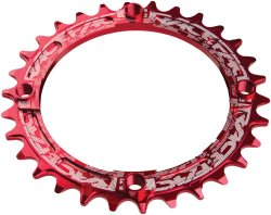Звезда RaceFace Chainring, narrow wide, 104x32, red, 10-12s