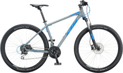 "Велосипед KTM Chicago Disc 29"" epicgrey matt (blue)"
