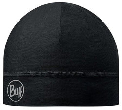 Шапка Buff Coolmax 1 Layer Hat solid black