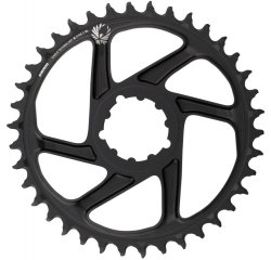 Звезда Sram CR X-SYNC SL Eagle 38T DM 6 OFFSET BLK