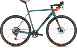 Велосипед Cube Cross Race SL bluegrey´n´orange
