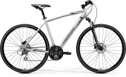 "Велосипед Merida Crossway 20-D 28"" silk titan (black/grey)"
