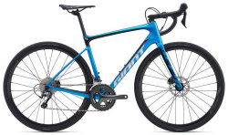 Велосипед Giant Defy Advanced 3-HRD Metallic Blue/Metallic Black